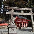 写真: 桜実神社境内