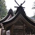 写真: 丹生川上神社中社社殿