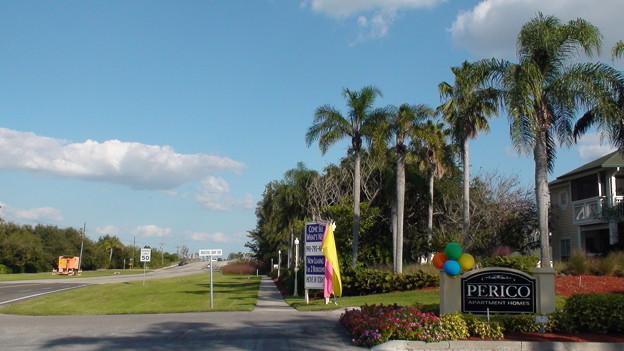 フロリダのビーチ通り