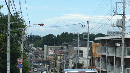 善行の坂の富士山(朝)