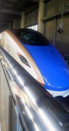 E7系F10編成(12両編成)金沢始発はくたか574号東京行き-0