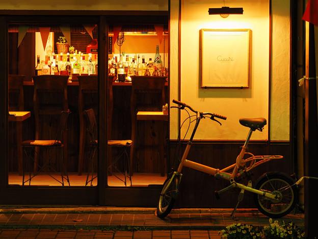 夕刻のCafe-Bar