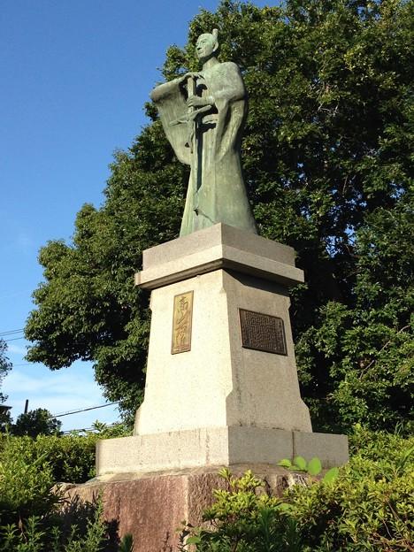 Photos: 20140731 高槻城跡公園の高山右近像