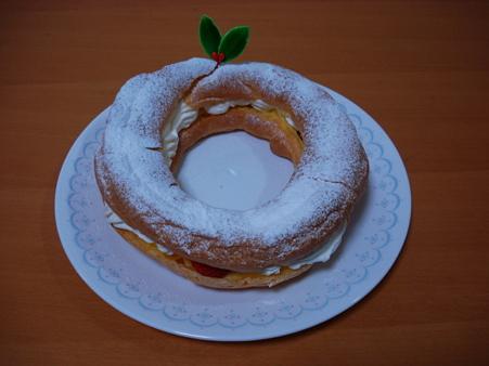 20091225 シューリングケーキ