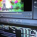 写真: TU-KOのNEW.CD制作と同時にこちらの新作絵本動画も同時進行中♪子ども達も楽しめるよう振り仮名入れ作業である(^^)