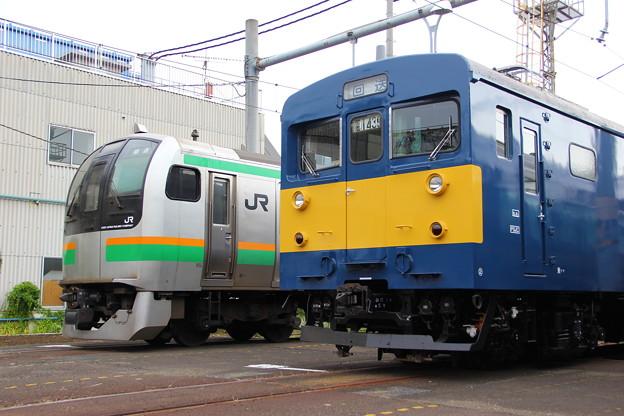 E217系とクモヤ143系 - 写真共有...