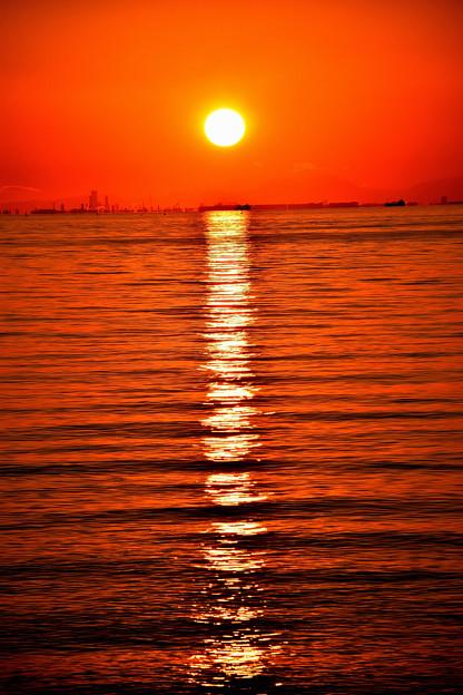 太陽の視線