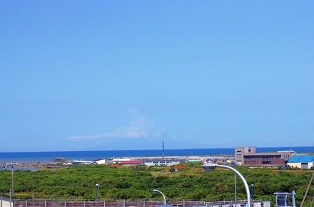 道の駅 富士見 より 利尻富士