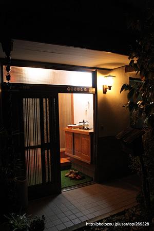実家の玄関2