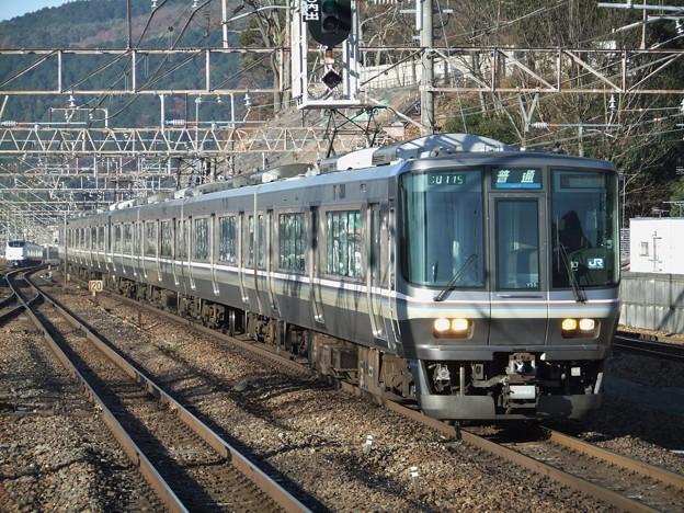 湖西線223系2000番台 V55編成他8両編成