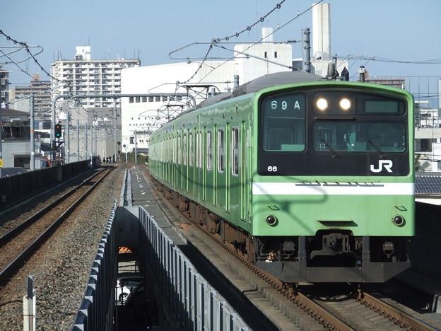 おおさか東線201系 ND602編成