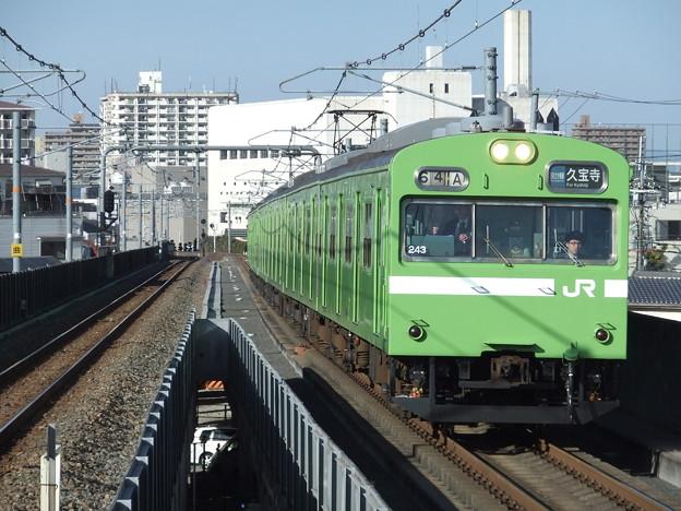 おおさか東線103系 NS619編成