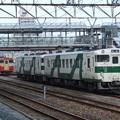 Photos: 烏山線キハ40系1000番台 キハ40 1002+キハ40 1001