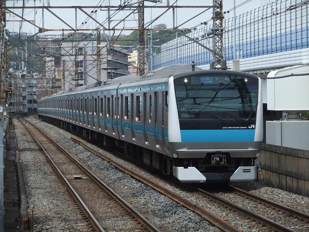 京浜東北・根岸線E233系1000番台 サイ181編成