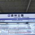 Photos: #TJ30 森林公園駅 駅名標【下り】
