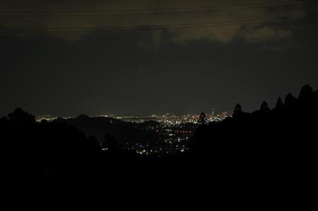 キャンプ場からの夜景1