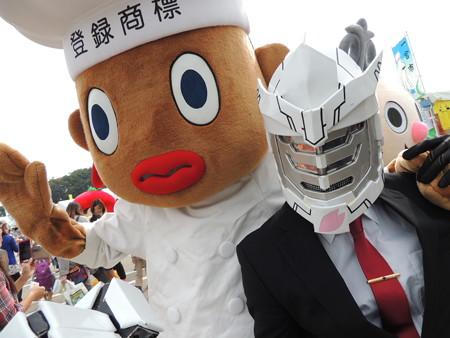 10/10(土) 稲沢サンドフェスタにご当地キャラ&ご当地アイドル(市長さんもいるよ)。