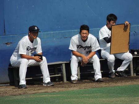 9/27(日) ナゴヤ球場のオリックス戦でドアラとか岩田投手とか山内投手とか。
