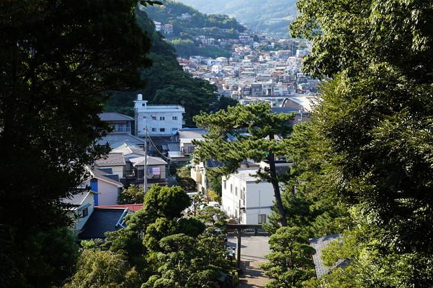 石段と街並み 2