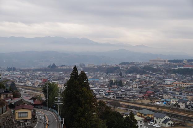 飯田市街を望む(鼎方面)