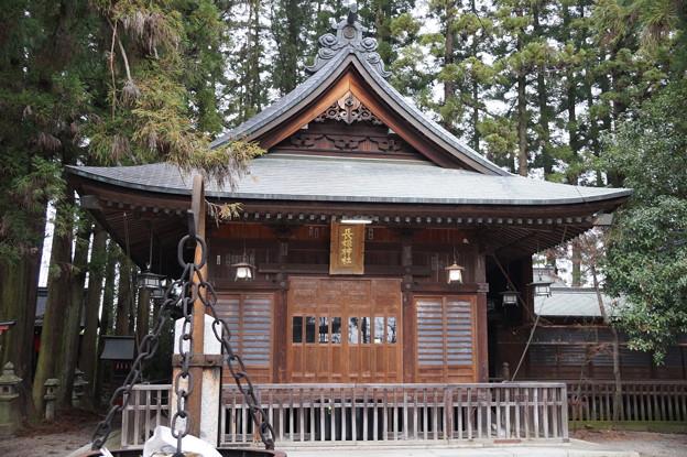 飯田城跡 長姫神社