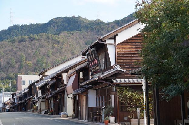 卯建のある街並み 2