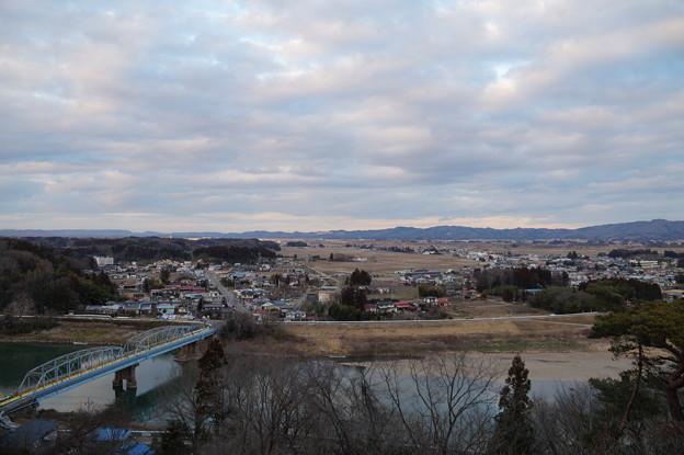 阿武隈川と丸森橋
