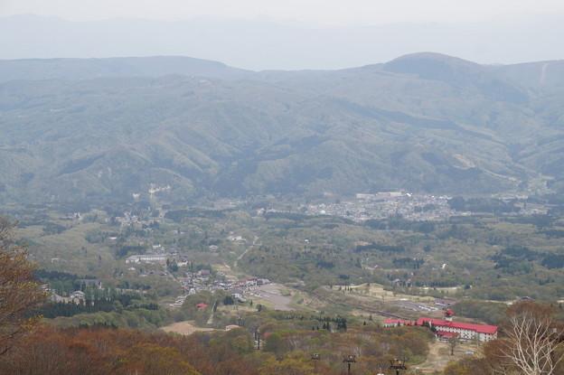 赤倉と妙高高原の街