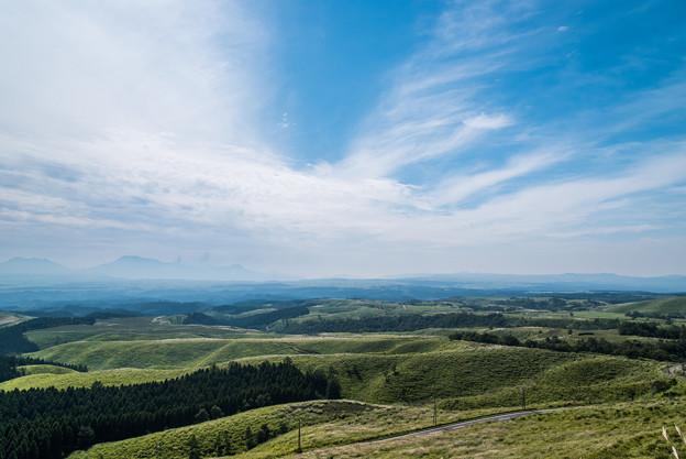 久住高原から北外輪山