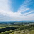写真: 久住高原から北外輪山