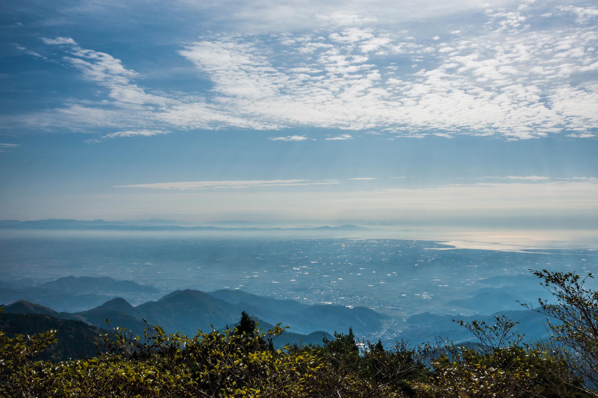 朝靄と佐賀平野