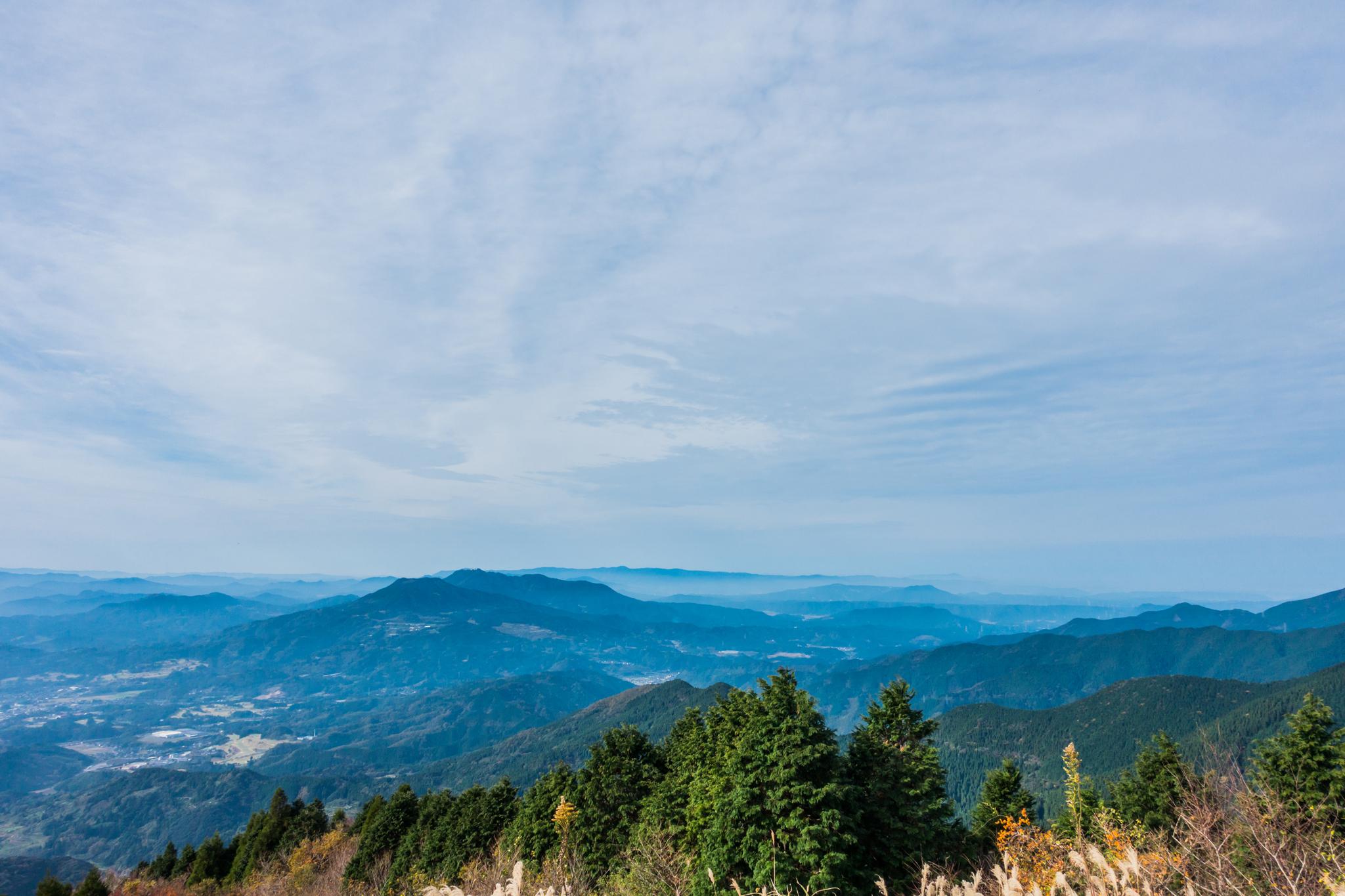 天山から八幡岳