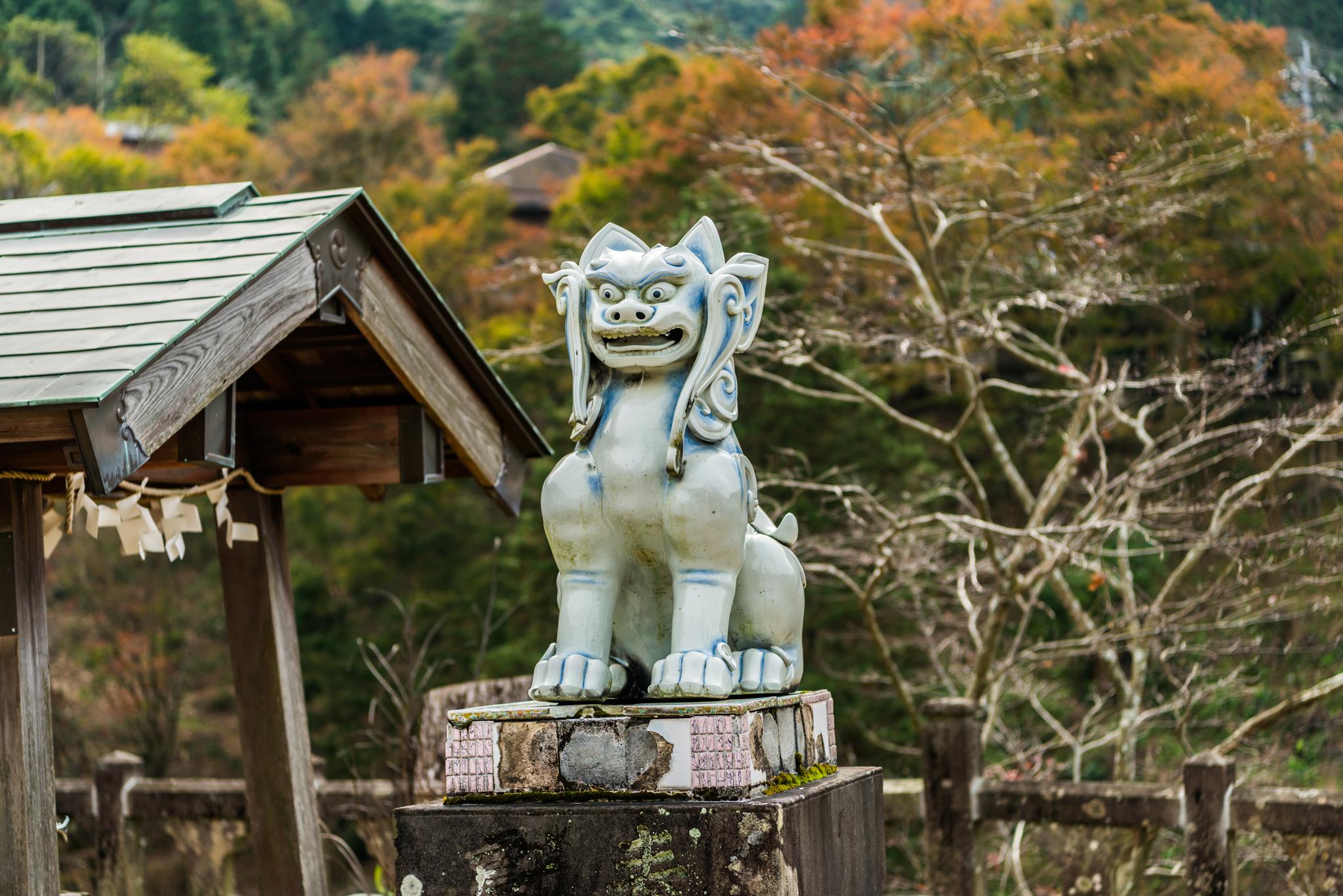 狛犬@陶山神社