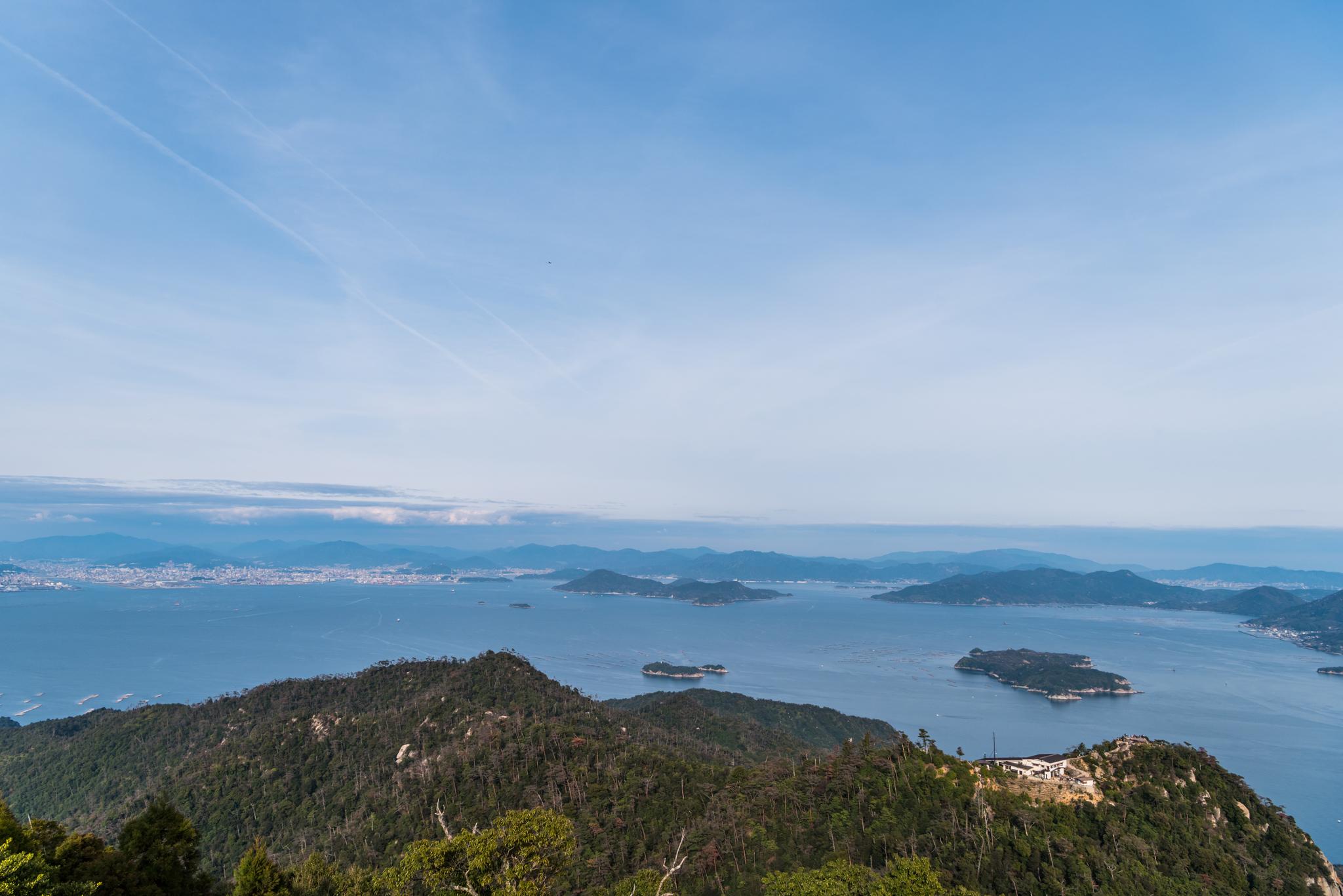 弥山からの眺望-4