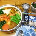 写真: 一昨日の晩御飯