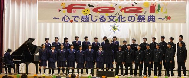 写真: 中学校合唱コンク-ル・・1  10:24