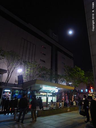 2016年4月22日、金沢市香林坊