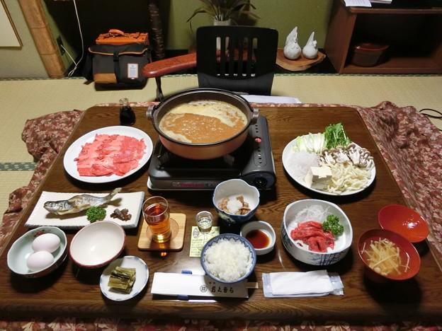 旅館おくむらの桜鍋
