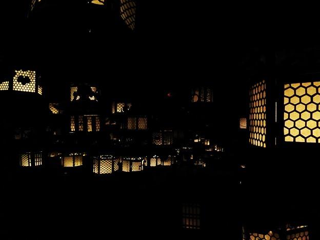 幻想的な万燈籠