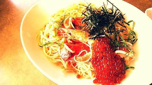 魚介パスタ(冷たいの)