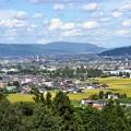 写真: 福島盆地