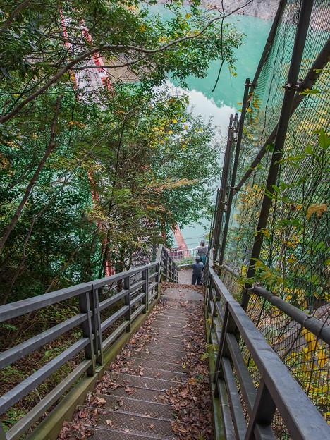 レインボーブリッジ湖上遊歩道