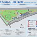 田子の浦みなと公園 案内図