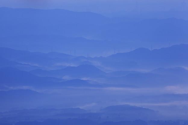 Photos: 朝霧に