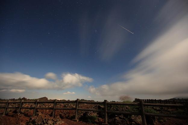 速報:ペルセウス座流星群