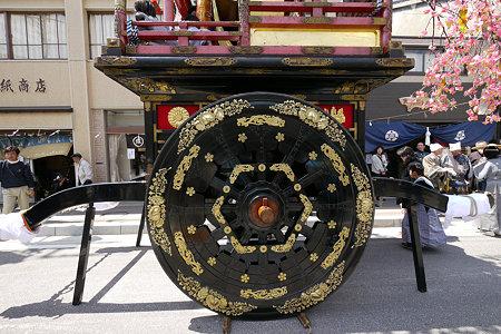 唯一の二輪車(二番町)