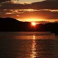 Photos: 来島海峡の夕日