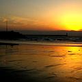 Photos: 浜辺の夕暮れ2