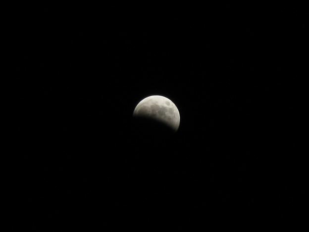 写真: IMG_8518 欠け始め月食2014.10.8