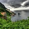 小樽・祝津から赤岩海岸を望む